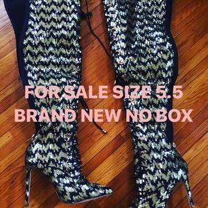 Exotic boutique Ecstasy thigh high boots